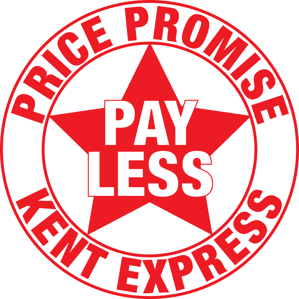 Pay Less Price Promise Logo